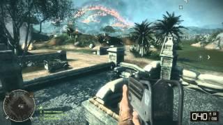 Battlefield Bad Company 2 Vietnam 11 Minute gameplay Multiplayer Vietcong Soldier