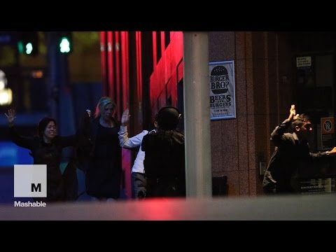 Sydney siege: Police storm cafe to rescue hostages | Mashable