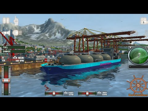 Ship Sim 2019: Biggest Oil Tanker - Gameplay (iOS - Android)