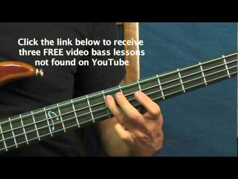 Bass Guitar Songs Lesson Stayin Alive The Bee Gees Youtube