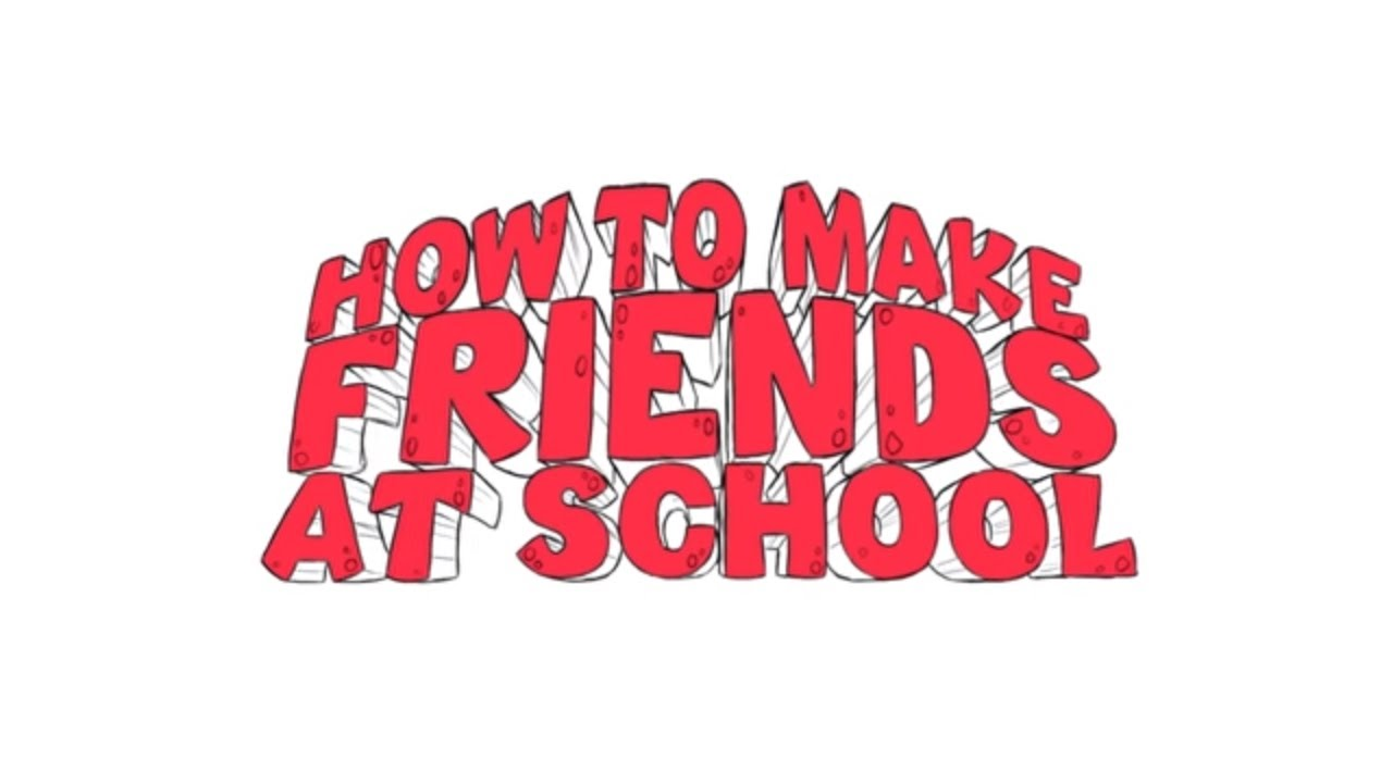 Animation How To Make Friends At School Youtube
