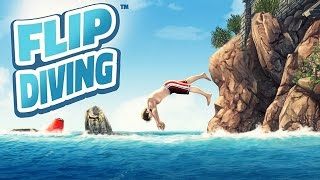 Flip Diving (by Miniclip) - Android Gameplay HD