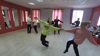 Танцевалная пауза  Егор и Аня Ш