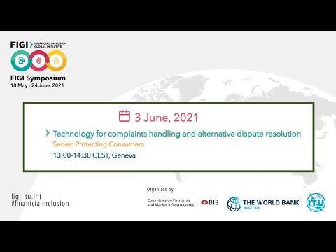 FIGI-2021 | Technology for complaints handling and alternative dispute resolution