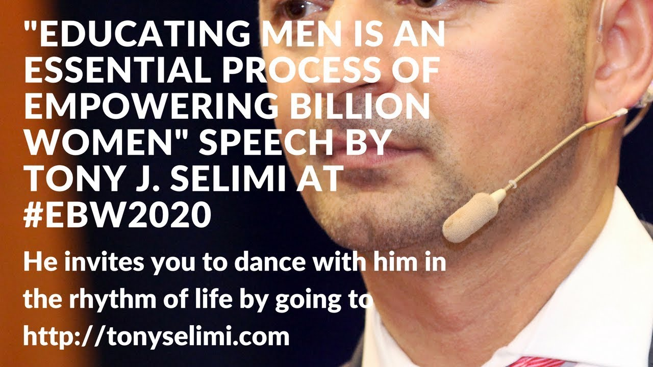 A Path To Wisdom Written By Tony J Selimi Designing Your Life Book Educating Men Is Essential Formula To The Empowerment Of Women Globally  Speech By Tony J. Selimi