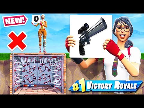 SCOPED PISTOL Parkour  SCORECARD CHALLENGE *NEW* Game Mode in Fortnite Battle Royale thumbnail
