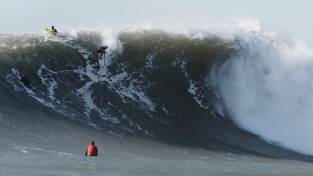 This Might Be The Prettiest Footage Of Surfing Giant Maverick S We Ve Ever Seen The Inertia
