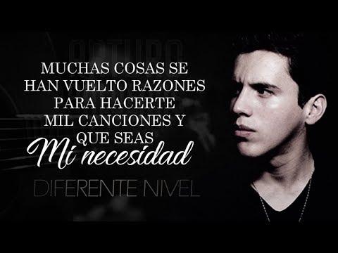 (LETRA) ¨AMO¨ - Diferente Nivel (Lyric Video) Autor: Arturo Balderas