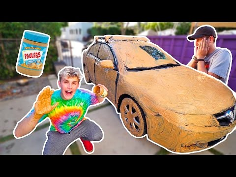 I COVERED MY FRIENDS CAR IN PEANUT BUTTER (SAVAGE PRANK)