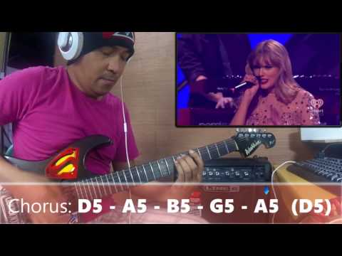 Love Story | Taylor Swift Guitar cover at iheart radio with chords