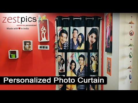 Personalized Photo Curtains | Zestpics