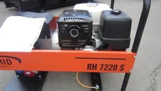 видео Бензиновые генераторы RID