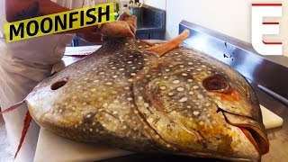 Breaking Down A Giant Moonfish At Greenpoint Fish & Lobster Co. — Snack Break