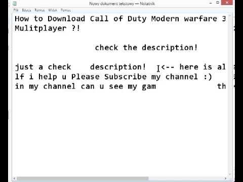 Cod mw3 full game tekno and fourdeltaone both mods v3. 3. 0. 0 dna.