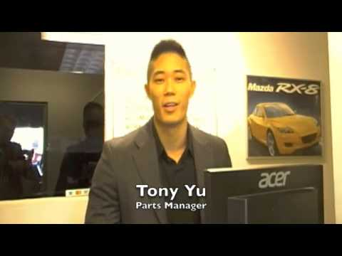 Tony Yu, Parts Manager, 401-Dixie Mazda, Mississauga, ON - YouTube