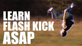 How to Flash Kick Flip   In Only 5 Minutes ASAP