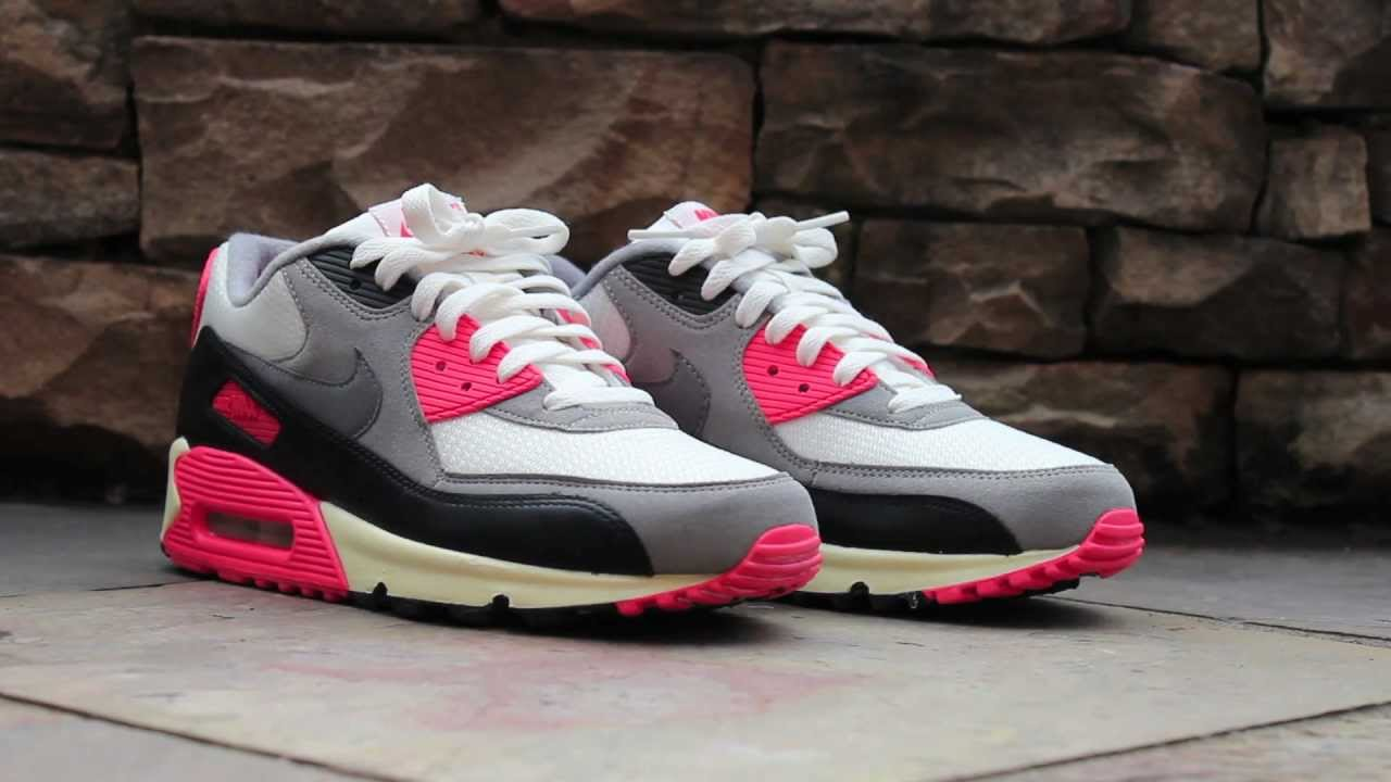 reputable site 8d336 51c30 Review Nike Air Max 90 OG - Infrared - YouTube