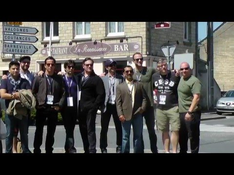 Ross Owen's Video Diary  Band Of Brothers Reunion  Normandy 2015 2 of 2