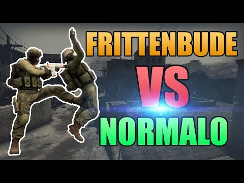 Frittenbude vs. Normal Player #2  [Real-Life CS:GO]