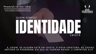Romanos 13.11-14 -  Identidade Cristã