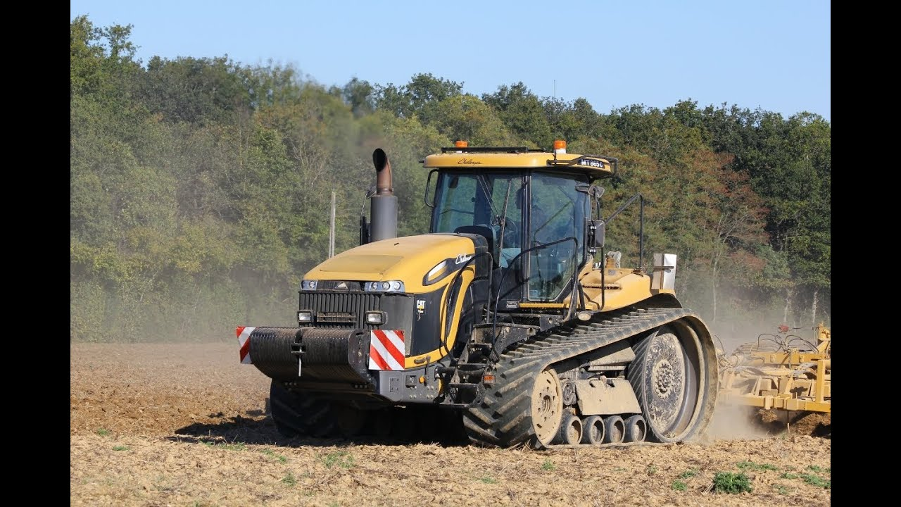 Cat Challenger Tractors : Caterpillar challenger mt c hp sound doovi