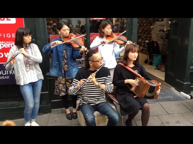 Toyota Ceili Band @ Fleadh Cheoil 2016 Street Performance 1