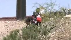 As cruzan los migrantes de forma ilegal a los Estados Unidos