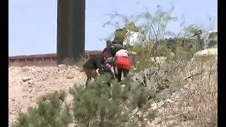 Así cruzan los migrantes de forma ilegal a los Estados Unidos