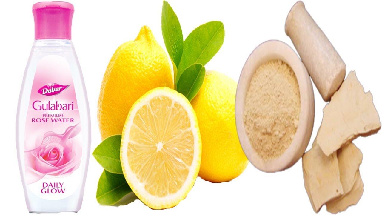 Rose Water Lemon & Multani Mitti That Will Change YOUR LIFE ...