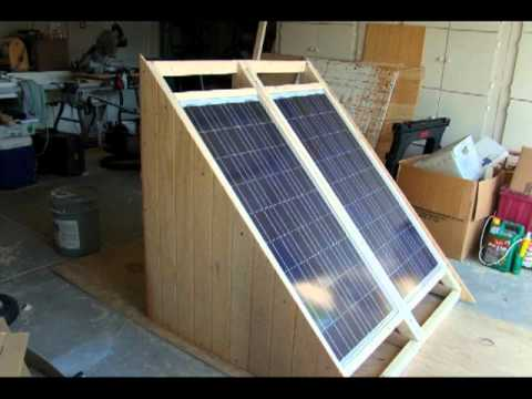 Building A Solar Cart On Wheels Youtube