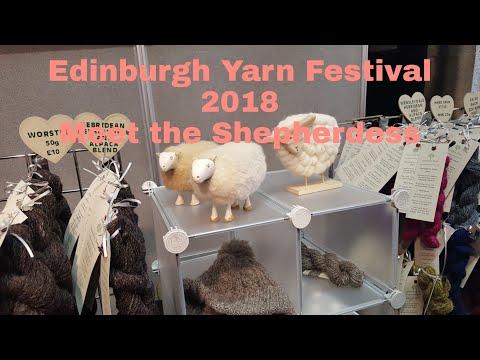 Edinburgh Yarn Festival 2018 Meet the Shepherdess