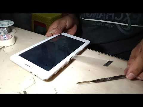 Cara buka touchscreen,layar sentuh tab advan T1J