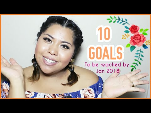 MY TOP 10 GOALS FOR THE REST OF THE YEAR