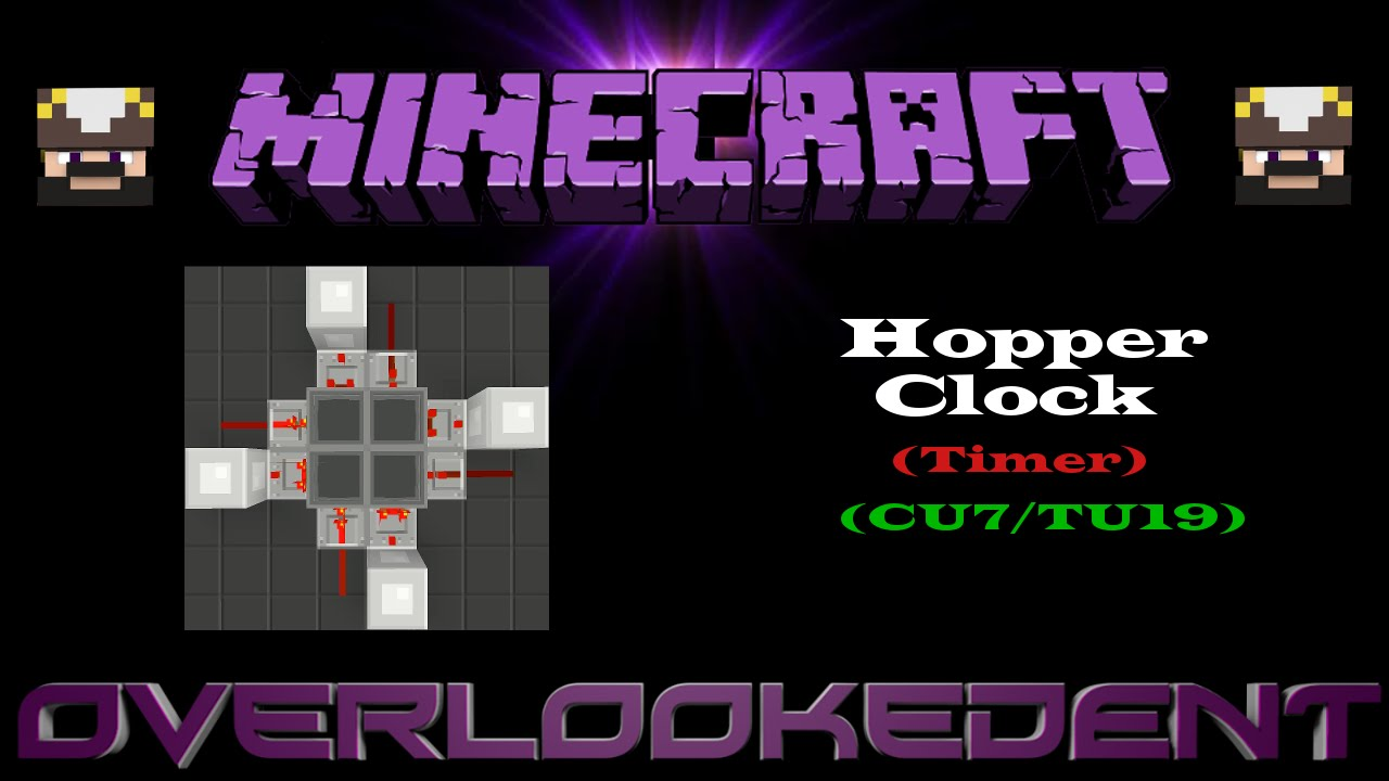 how to read a clock in minecraft