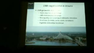 J.Kikāne par Latvijas Nacionālo bibliotēku