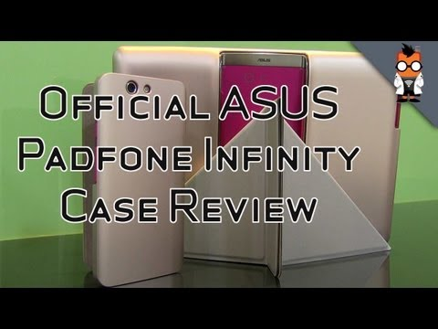 Official ASUS Padfone Infinity Case Review on a High Speed Train