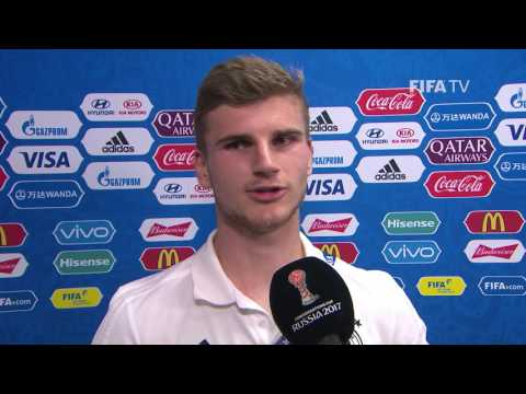 Timo WERNER - Post-Match Interview - Match 14: Germany v Mexico - FIFA Confederations Cup 2017