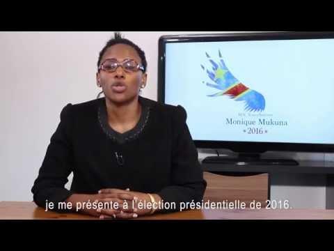 Monique Mukuna message pour la population du Congo RDC