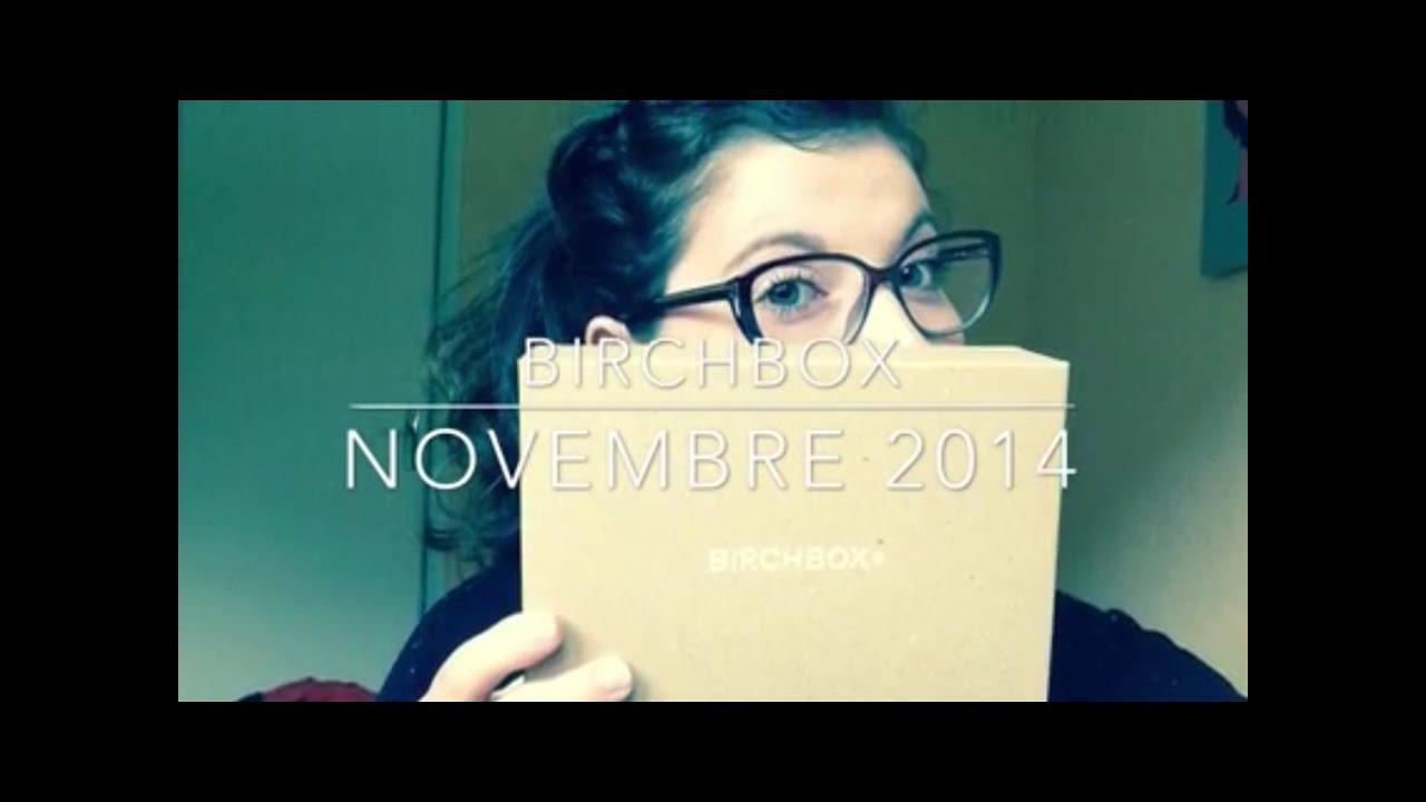 Birchbox Novembre 2014.