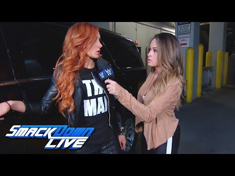 Becky Lynch refuses medical attention: SmackDown LIVE, Jan. 29, 2019