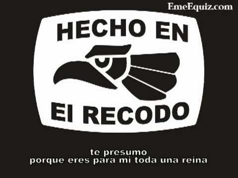 LEVANTON.COM  TE PRESUMO -el RECODO ♦♦♦♦♦ con -Lyrics ♦♦♦♦♦