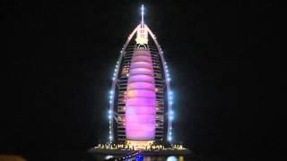 Burj Al Arab Jumeirah - Lightshow