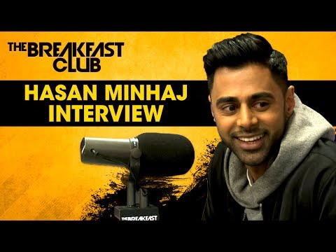 Hasan Minhaj Speaks On America's Fear Of Muslims, Freedom Of