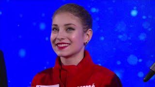 Alena Kostornaia Interview European Championships 2020