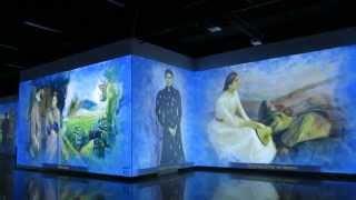 Выставка ''Авангард. Пространство цветов и форм'' Целиком от начала до конца.