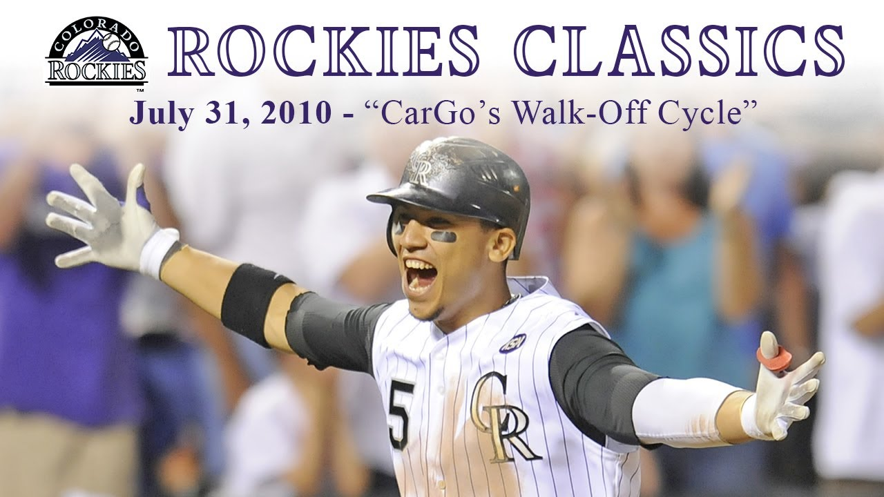 Rockies Classics - CarGo's Walk-Off (July 31, 2010)