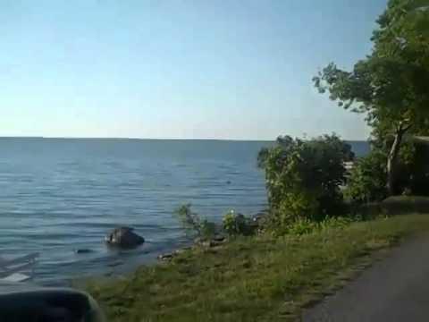 Kelleys Island, Ohio Lighthouse, Campground, Bird Sounds, Northwest Shore