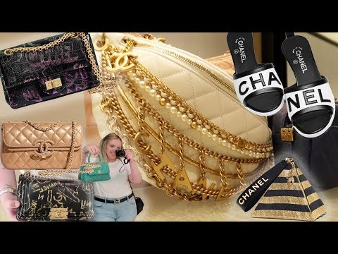 8f7db2a656b CHANEL LUXURY SHOPPING VLOG Chanel 19A Collection Metiers D'Art – Shopping  time