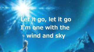 "Gambar cover Lyrics: ""Let it Go"" (Full Song by Idina Menzel)"