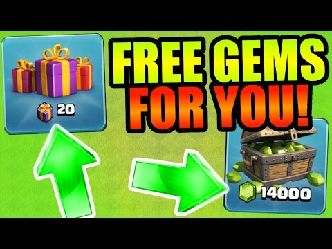 Clash Of Clans - WHO WANTS FREE GEMS!?! INVITE ME TO YOUR CLAN ON CHRISTMAS DAY!